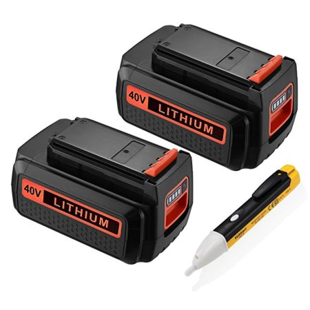 Powerextra 2 Pack Replacement Black and Decker LBXR36 Battery