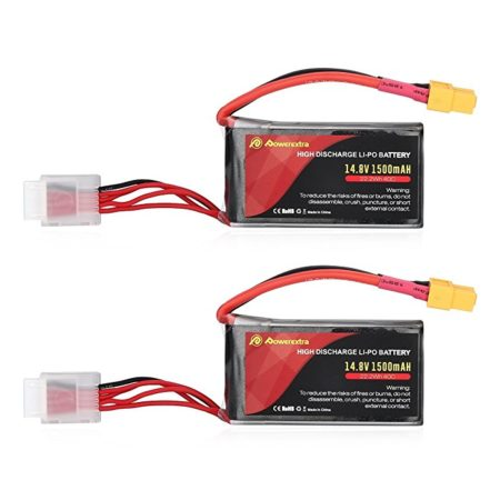 High Performance 40C 4S LiPo Battery 1500mAh 14.8V