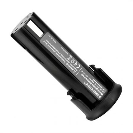Powerextra Milwaukee 2.4V 2000mAh Ni-CD Replacement Power Tool Battery