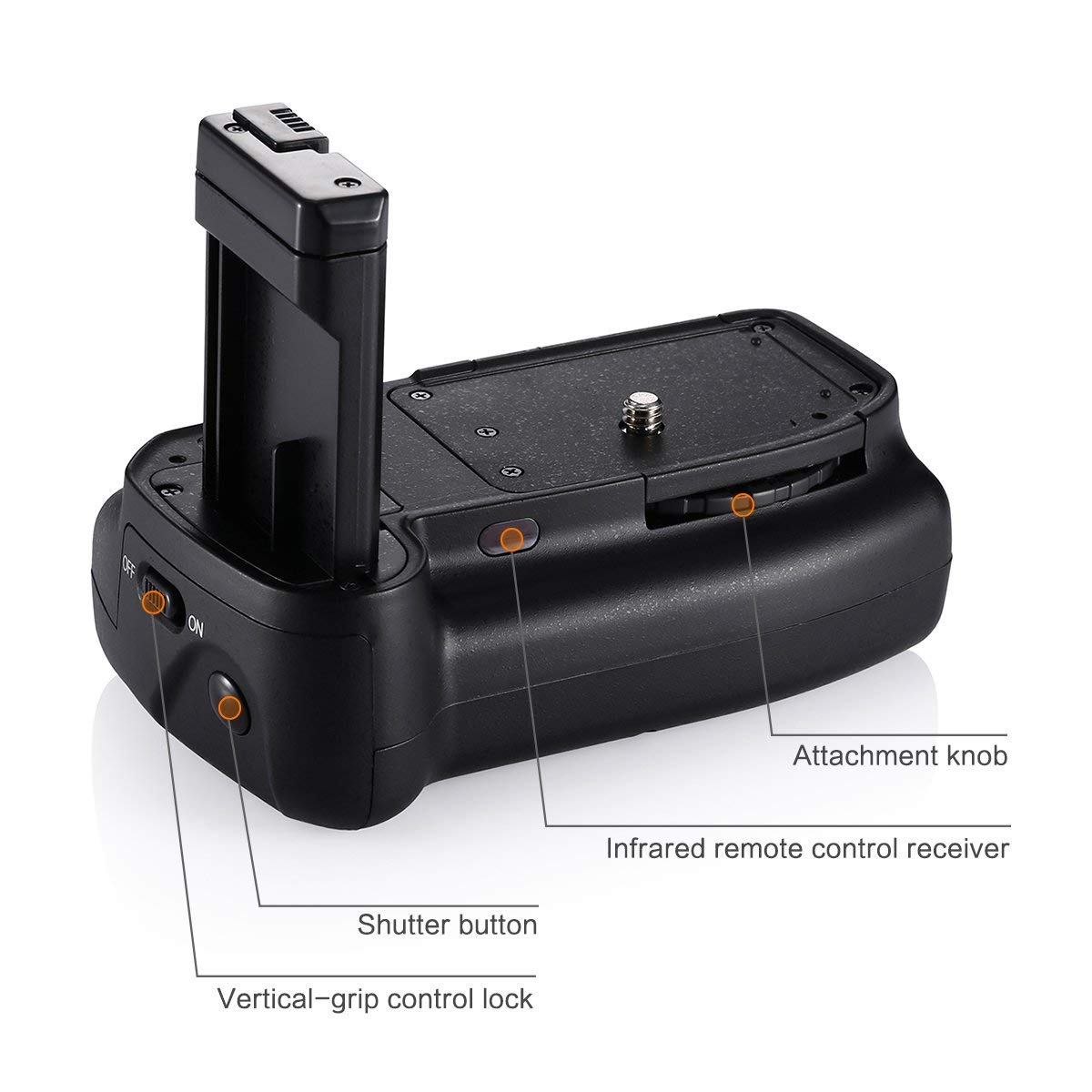 Professional Replacement Vertical Battery Grip Holder for Nikon