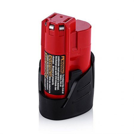 12V Power Tool Battery compatible with Milwaukee 48-11-2420 M12