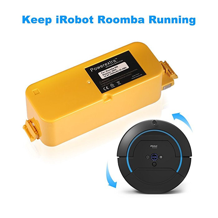 14 4v 3500mah replacement battery for irobot roomba 400 series. Black Bedroom Furniture Sets. Home Design Ideas