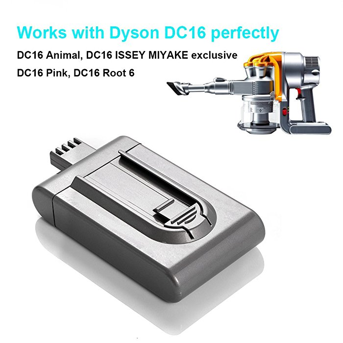 new battery 2000mah for dyson dc16 dyson handheld vacuum cleaner dc16 root 6 dc16 dc16. Black Bedroom Furniture Sets. Home Design Ideas