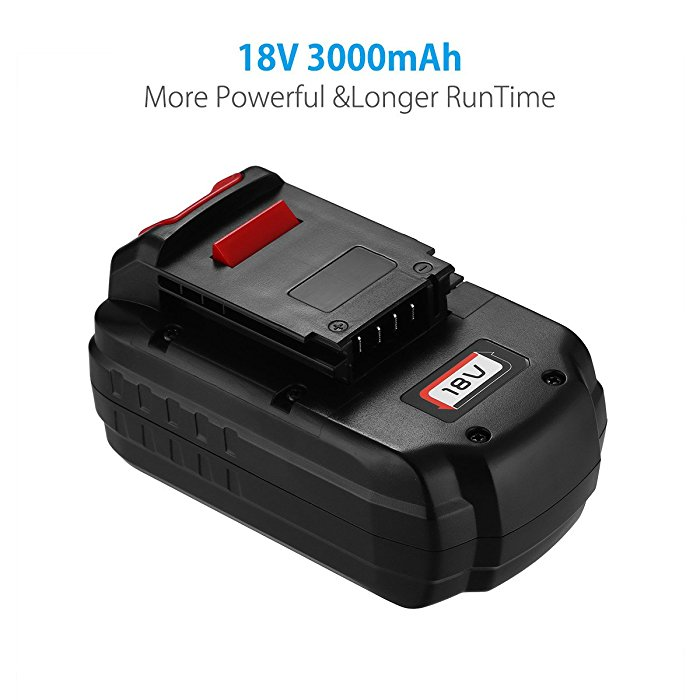 Powerextra 3 0ah Porter Cable 18v Battery Pc18b Replacement