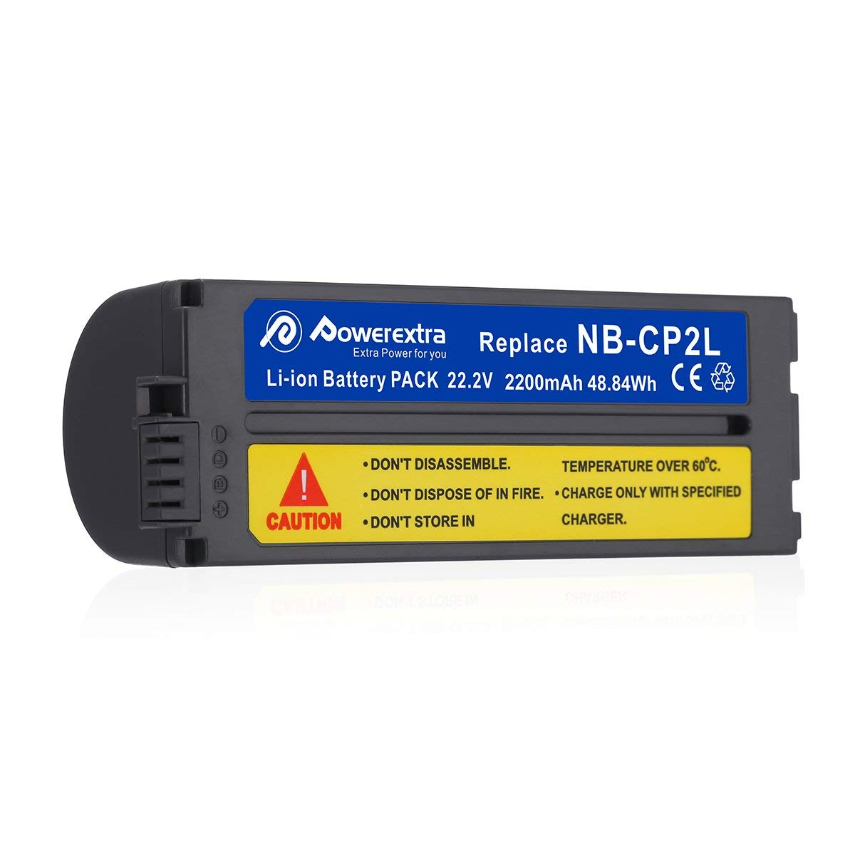 Battery and Charger for Canon NB-CP2L, NB-CP1L, CG-CP200 and
