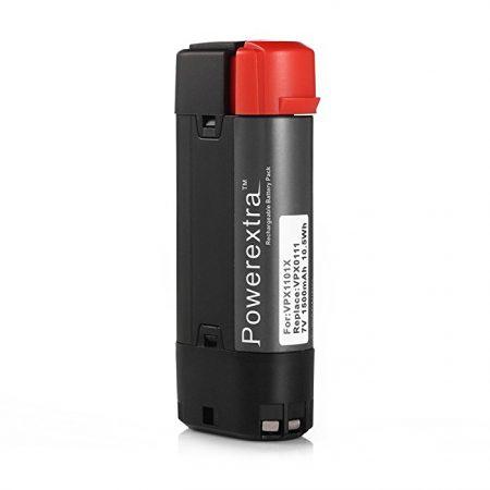 Powerextra 7V 1500mAh Li-ion Black & Decker VPX0111 Battery, 7V Black & Decker Drill Battery PX1101X VPX1201 VPX1212