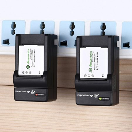2 PCS Fujifilm NP-50 Repalcement Battery and Charger For Fujifilm NP-50, BC-50