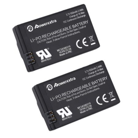 3.7V 650mAh Lithium Polymer Battery for Parrot MiniDrone Rolling Spider and Jumping Sumo