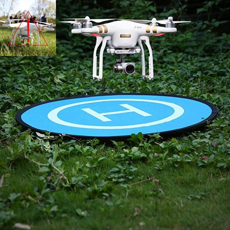 43″ (110 cm) Universal Collapsible Landing Pad for DJI Phantom 2/3/4/4 Pro