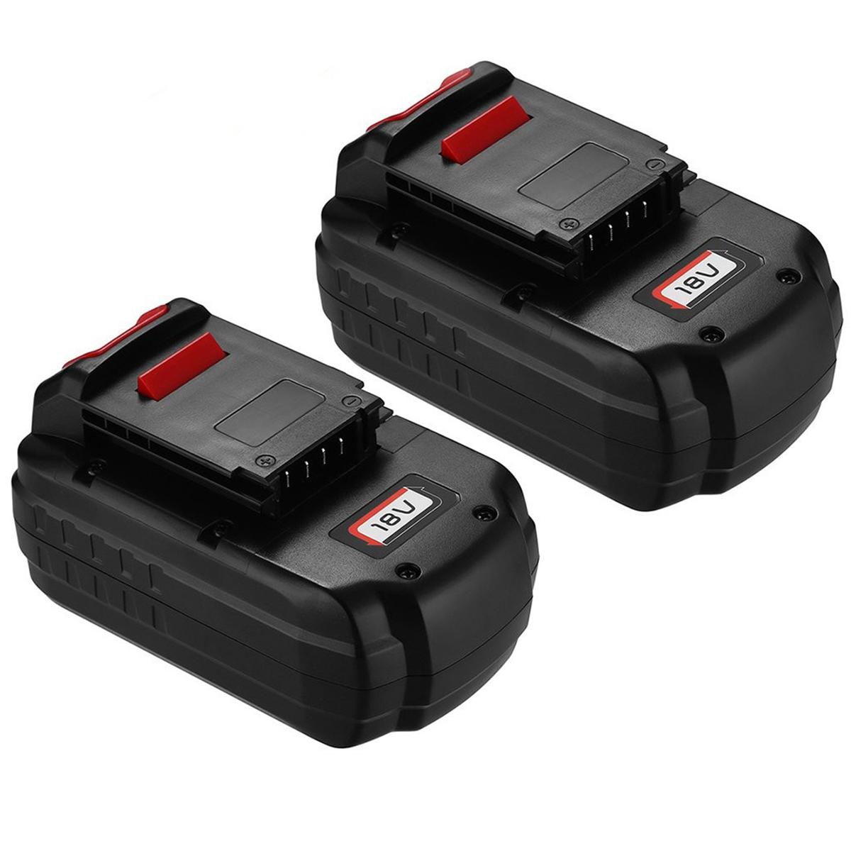 2 Pack 18v 3500mah Replacement Battery For Porter Cable Pc18b 2 18 Volt Cordless Tools Batteries