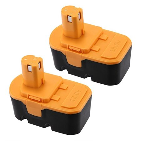 Powerextra NiMH Ryobi 18V Battery Replacement for ONE+ P100 P101