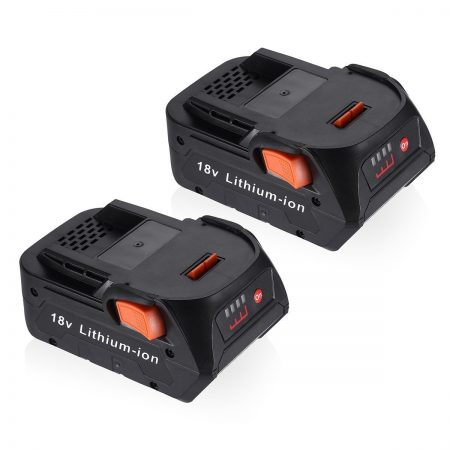 2-Pack 18V RIDGID Drill Battery Replacement for R840087 R840083
