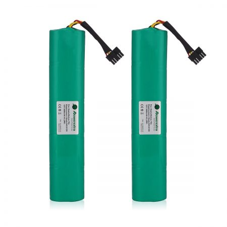 Powerextra 2 Pack 12V 3600mAh Ni-Mh Battery Pack for Neato Botavc Series and Botvac D Series Neato Botvac Battery
