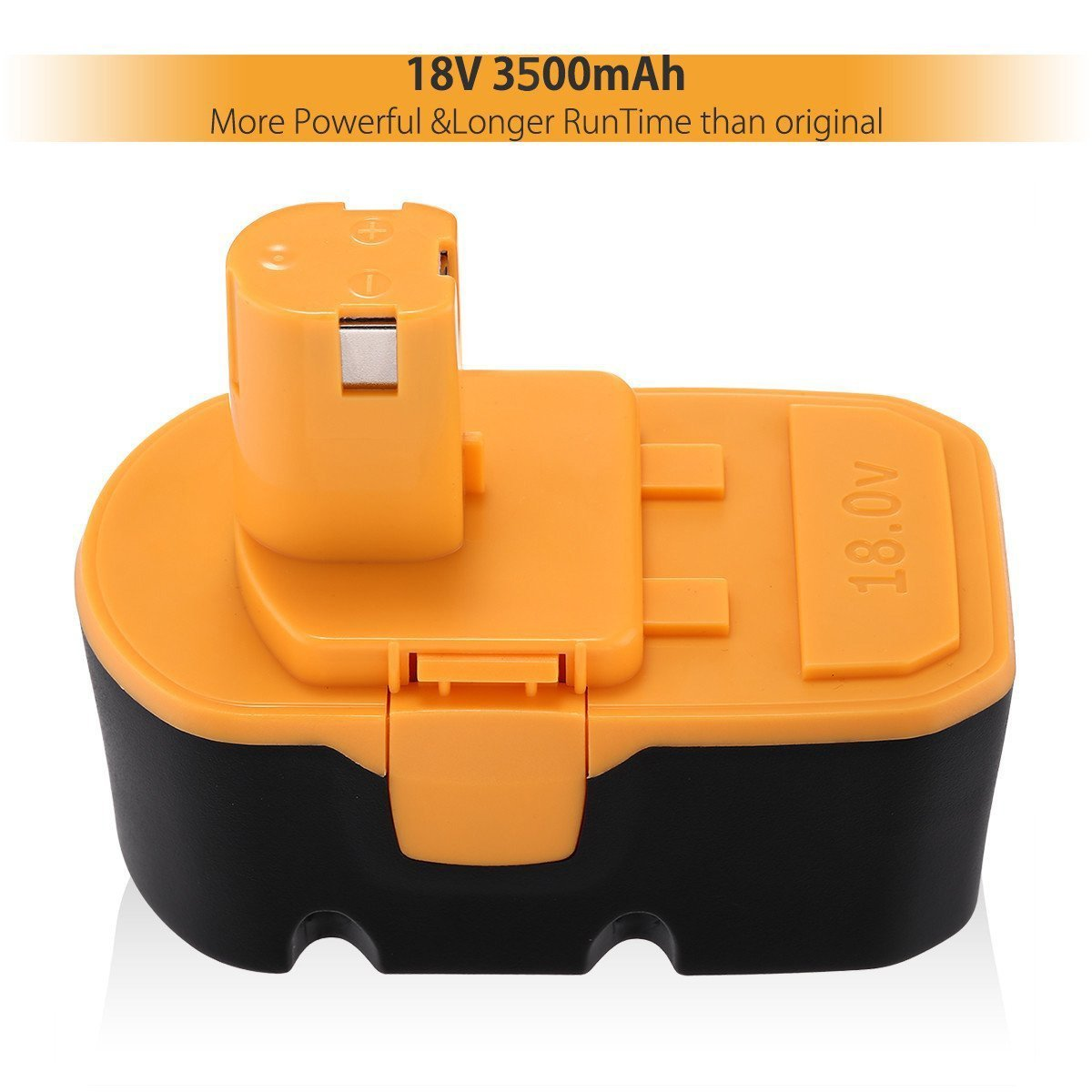 Powerextra Nimh Ryobi 18v Battery Replacement For One