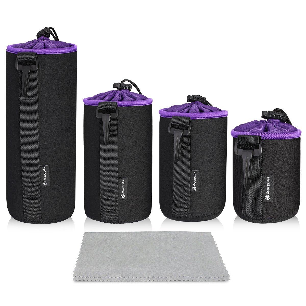 1X Neoprene Soft Camera Inner Lens Case Pouch Bag for Canon Camera FO