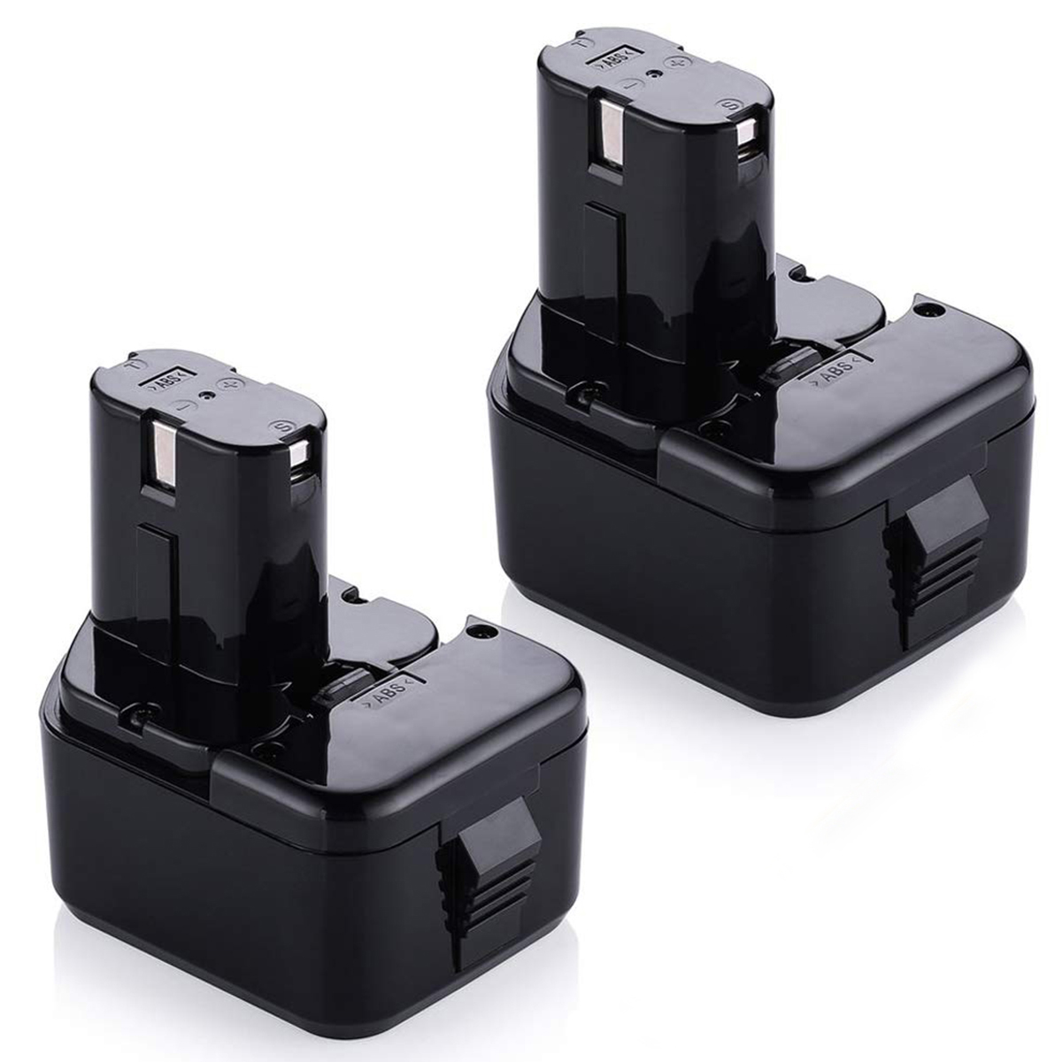 2 Pack 18v Ridgid Drill Battery Replacement For R840087 R840083