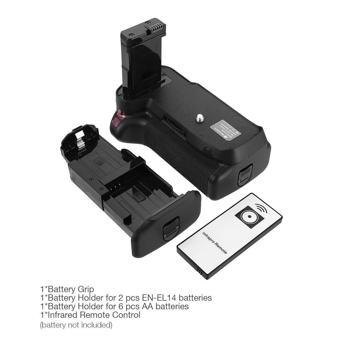 Powerextra Battery Grip For Nikon D3400 Digital Slr Camera With Infra Red Remote Control 61umqfbyuol Sl1200