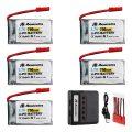 JST Plug 3.7V 750mAh Lipo Battery for MJX X400 X400W X800 X300C