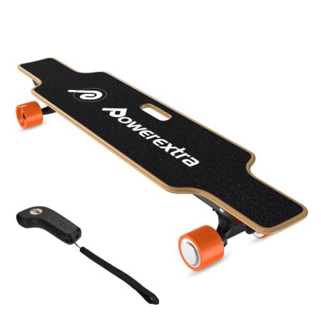 Powerextra Electric Longboard Skateboard