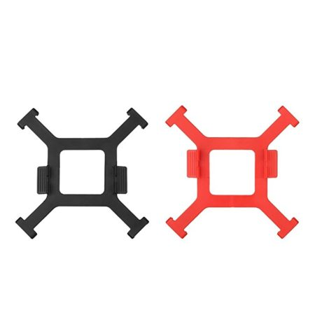 Powerextra DJI Spark Propellers Fixed Holder Transport Protector Clips, 2 Pack Red and Black