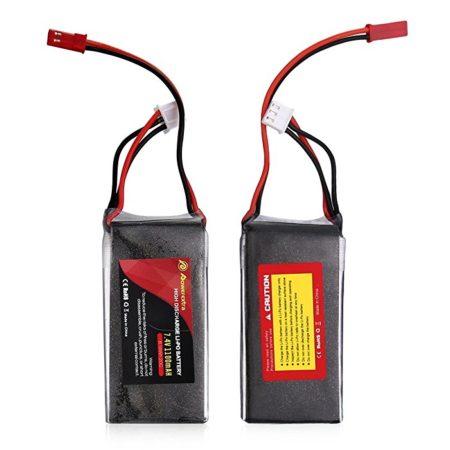 Powerextra 7.4V 1100mAh 2S 20C Lipo Pack HobbyKing RC Battery
