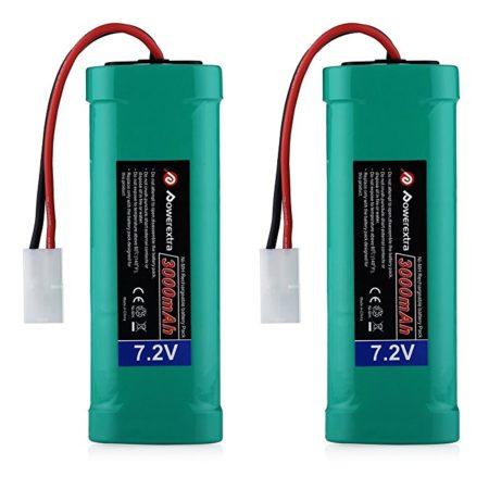 3000mAh 7.2 Volt NiMH RC Rechargeable Batteries
