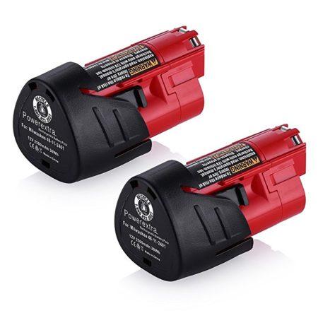 Powerextra 2500mAh Milwaukee M12 Replacement Battery
