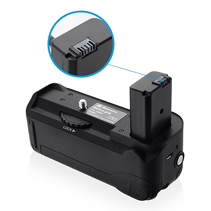 Powerextra Pro Battery Grip Replacement for Sony Alpha A6500