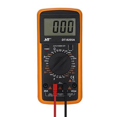 Digital Multimeter Electronic Measuring Instrument AC/DC Voltage Tester Amp/Ohm/Volt Test Meter Multi Tester Diode