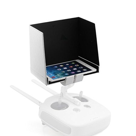 Powerextra 8 Inches Tablet Monitor Sunshade Hood for DJI Mavic Pro, Spark, Phantom 2/3 and Phantom 4/4 Pro Transmitters