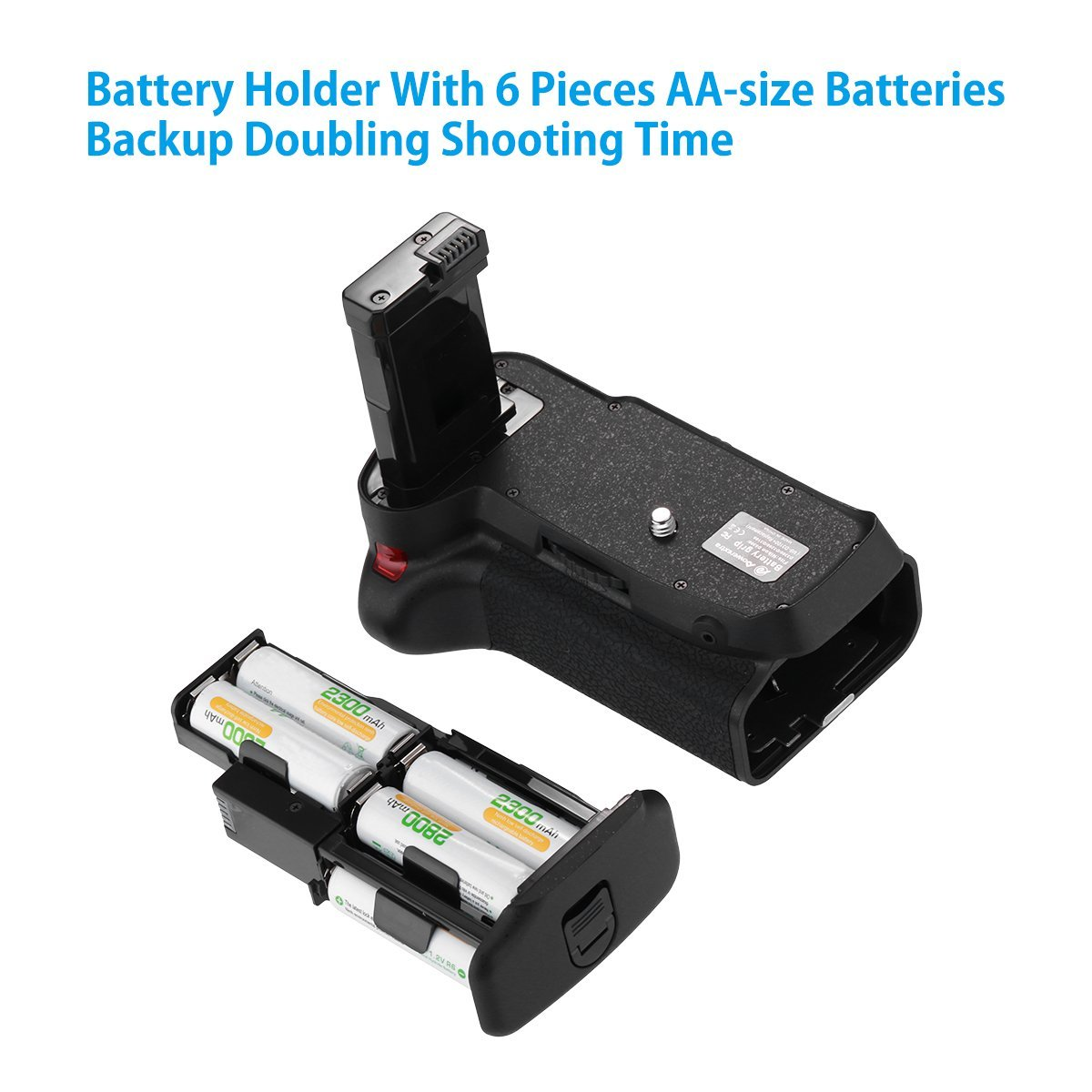 Powerextra Battery Grip With Infrared Remote Control 1500mah En Infra Red For Nikon Camera 61kzecsqjxl Sl1200